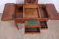 French Walnut Veneer Fold out Dressing Table (6 of 7)