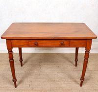 Edwardian Mahogany Writing Desk Table (2 of 12)