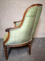 Carved Walnut French Armchair (5 of 11)