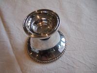 German Single Sterling Silver Candleholder by Jakob Grimminger (2 of 4)