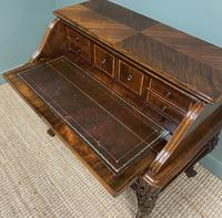 Outstanding Victorian Rococo Rosewood Antique Writing Desk (5 of 11)