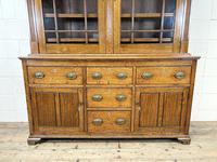Antique 19th Century Glazed Oak Dresser (3 of 10)