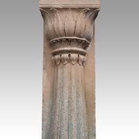 Antique Half Sandstone Column (3 of 3)