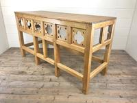 Victorian Pine Church Altar Table in Gothic Design (5 of 14)