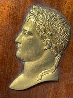 Pair of Interesting 19th Century Gilded Bronze Alexander The Great & Napoleon Cameo Plaques (23 of 29)