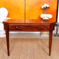 Folding Writing Desk 19th Century Mahogany (2 of 17)