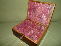 Georgian Inlaid Rosewood Jewellery / Table Box c.1825 (2 of 12)