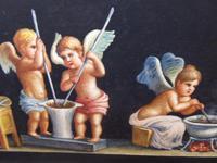 Watercolour Mischievous Putti Listed Artist E P Fenderico (5 of 14)