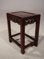 Good Late 19th Century Hardwood Oriental Low Table (4 of 5)