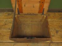 Antique Pine Tuck Box with Old Luggage Labels (4 of 19)
