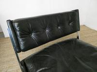 1960s Chrome & Leather Chair (5 of 12)