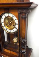 Fantastic Rare Victorian 8-day Wall Clock – Small Antique Striking Vienna Wall Clock (9 of 17)