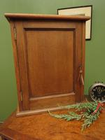 Small Antique Oak Cabinet, Medical Medicine Cabinet with Internal Drawers & Key (3 of 13)