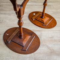 Pair of Mahogany Tripod Tables (8 of 9)