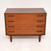 1960's Danish Rosewood Chest of Drawers by Kai Kristiansen (3 of 12)
