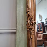 Large Antique French Trumeau Mirror c.1890 (4 of 6)