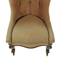 Victorian Rosewood Slipper Chair (6 of 7)