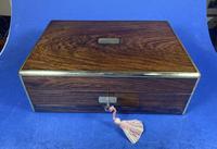Victorian Rosewood Gentlemen's Vaniety Box (13 of 13)