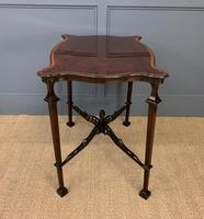 Chippendale Style Mahogany Occasional Table (4 of 10)
