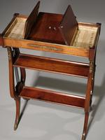 Attractive & Slender Mid 19th Century Mahogany Tricoteuse (6 of 8)