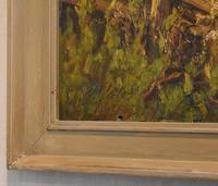 Oil Painting of the Old Bridge Near Welham (6 of 8)