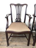 Pair of 19th Century Chippendale Style Armchairs (11 of 11)