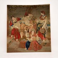 Antique Hand Made Tapestry (11 of 11)
