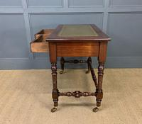 Good Late Victorian Mahogany Writing Table (3 of 14)
