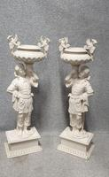 Pair of Antique Carved Blackamore Planters (3 of 5)