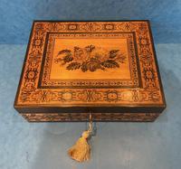 Victorian Tunbridge Ware Jewellery Box