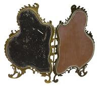 French Gilt Bronze Rococo Style Table Mirror (6 of 6)