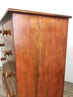 Antique 19th Century Mahogany Chest of Drawers (5 of 9)