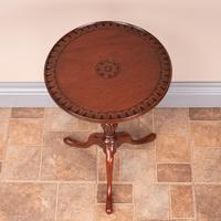 Mahogany Carved Top Wine Table (2 of 6)
