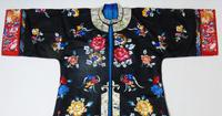 19th Century Chinese Silk Embroidered Robe (2 of 11)