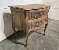 Stylish French Bleached Oak Commode Chest (5 of 20)