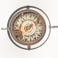 Early 20th Century Ships Compass (4 of 5)