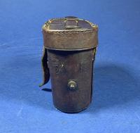Victorian Brass Binoculars with original leather case (12 of 19)