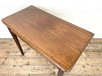 Antique Mahogany Fold Over Table (7 of 10)