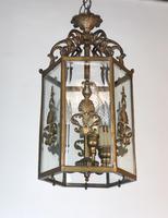 Antique French Gilt Bronze Lantern (12 of 13)