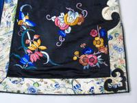 19th Century Chinese Silk Embroidered Robe (7 of 11)