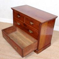 Edwardian Walnut Chest of Drawers (7 of 8)
