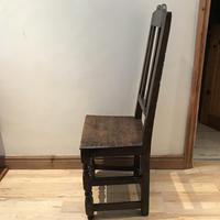 1680's Oak Pegged Chair (6 of 15)