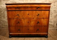 19th Century Walnut Chest of Drawers (3 of 6)