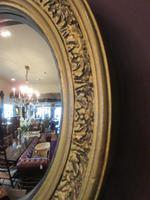 Antique Plaster Gilt Convex Wall Mirror (4 of 7)