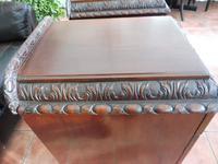 Rare Pair of Mahogany Adams Style Pot Cupboards 1820 (7 of 10)