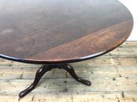 Antique Mahogany Tilt Top Table (8 of 9)