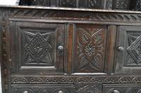 Early 18th Century Carved Oak Buffet Sideboard Dresser (10 of 14)