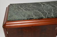 1920's French Art Deco Rosewood & Marble Sideboard (2 of 13)