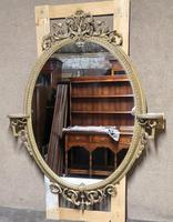 Victorian Gilt & Gesso Overmantle Mirror c.1870 (2 of 11)