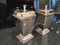 Stunning Art Deco HM Sterling Silver Cruets c1934 (10 of 12)